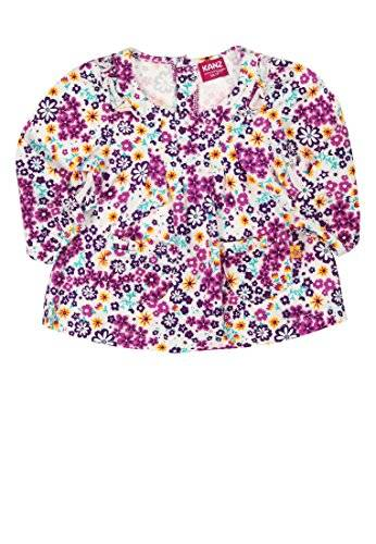 Kanz - Blouse - Bébé fille - Multicolore (Allover Multicolored 0003) - FR: 6 mois (Taille fabricant: 68)
