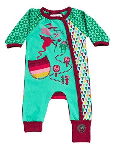 Phister & Philina - Grenouillère - Bébé fille - Multicolore (Electric Green Electric Green) - FR: 6 mois (Taille fabricant: 68)
