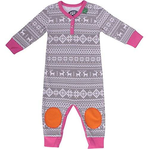Fred'S World By Green Cotton - Grenouillère - Bébé fille - Rose (Pink 017243501) - FR: 24 mois (Taille fabricant: 92)