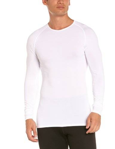 Gore Running Wear Essential Base Layer Thermo Maillot manches longues homme Blanc FR : L (Taille Fabricant : L)