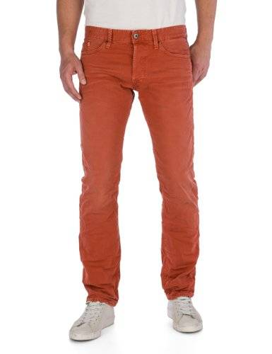 Replay - Jeans Droit - Homme - Rouge (Red) - W30/L32