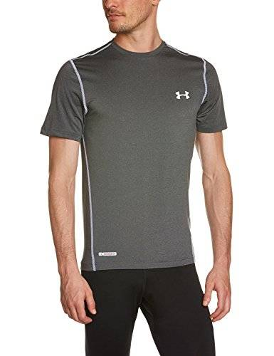Under Armour Evo CG Hybrid Couche de compression de protection Homme Scatter/Steel FR : L (Taille Fabricant : LG)