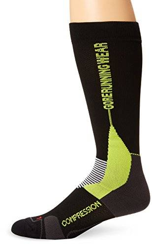 Gore Running Wear X-run Ultra Chaussettes Black/Graphite/Neon Yellow FR : chaussettes : 43-46 (Taille Fabricant : 44-46)