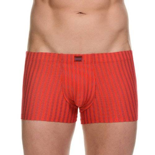 Bruno Banani - Caleçon - Homme - Multicolore (Rot/Türkis Stripes 724) - XX-Large (Taille fabricant: 8)