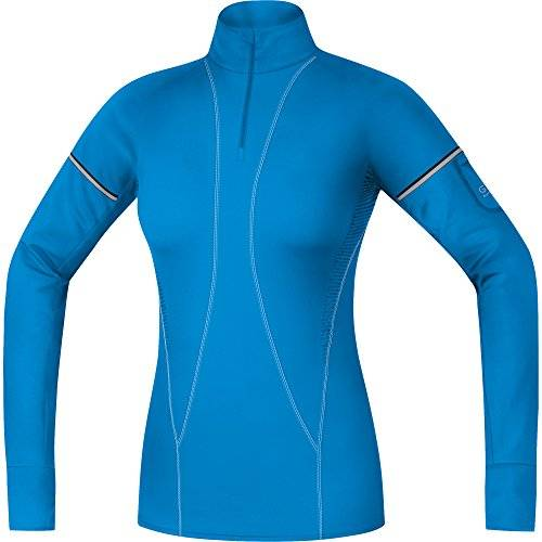 Gore Running Wear Air Maillot Femme Waterfall Blue FR : S (Taille Fabricant : 36)