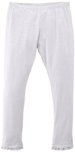 Geox K4235A T0968 - Leggings - Uni - Fille - Beige (White) - FR: 6 ans (Taille fabricant: 6 ans)