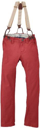 Petrol Industries - Pantalon - Garçon - Rouge (Faded Red) - FR: 16 ans (Taille fabricant: 176)