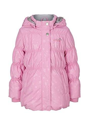 s.Oliver 58.409.52.6534 - Manteau - uni - Fille - Rose (Orchidee Aop 44A7) - FR: 4 ans (Taille fabricant: 104)