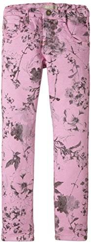 NAME IT - Pantalon Fille - Multicolore - Mehrfarbig (Pastel Lavender) - 11 ans