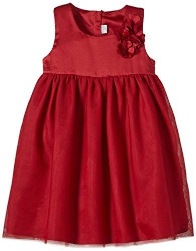 Name It Pesilk Mini Dress - Robe - Fille - Rouge (Jester Red) - FR: 6 ans (Taille fabricant: 116)