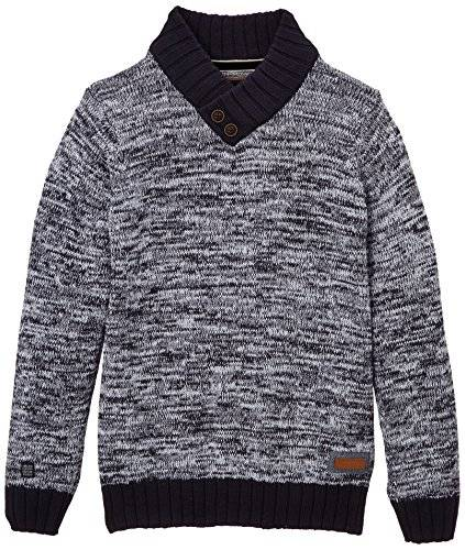Deeluxe Spring - Pull - Uni - Manches longues - Garçon - Bleu (Navy) - FR: 12 ans (Taille fabricant: 12)