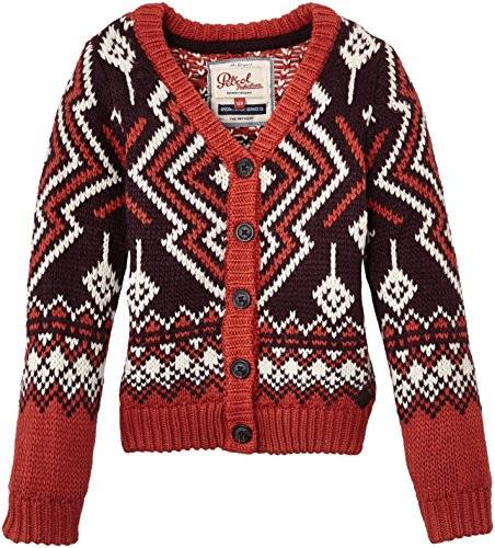 Petrol Industries - Pull - Fille - Multicolore (Dark Plum) - FR: 4 ans (Taille fabricant: 104)