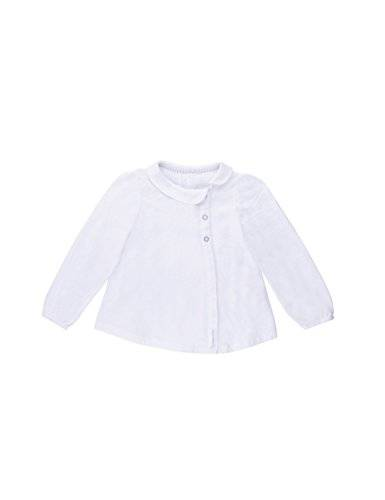Bellybutton Kids - Blouse Fille - Blanc - Weiß (bright white white 1000) - 6 ans