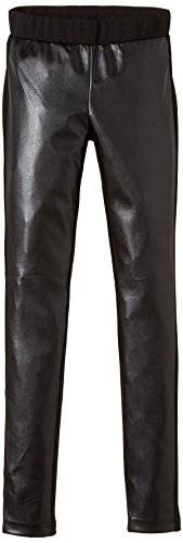 Outfitters Nation - Leggings - Fille - Noir (Black C-N10) - FR: 14 ans (Taille fabricant: S/164)