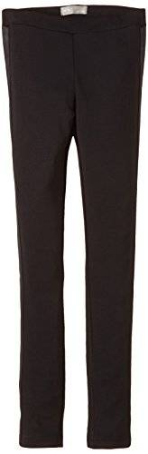 Name it Olpu - Pantalon - Uni - Fille - Noir (Black) - FR: 8 ans (Taille fabricant: 128)