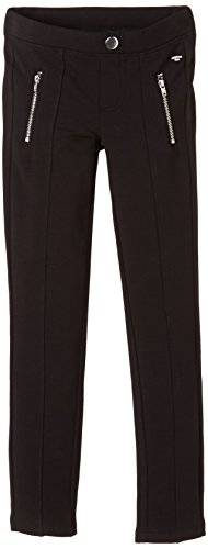 Tom Tailor Kids Cool Tregging With Zipper/411 - Jeans - Fille - Noir (Black 2999) - FR: 8 ans (Taille fabricant: 128)