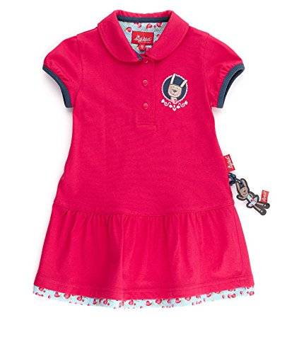 sigikid - Robe Fille - Rouge - Rot (rose red 683) - 6 ans