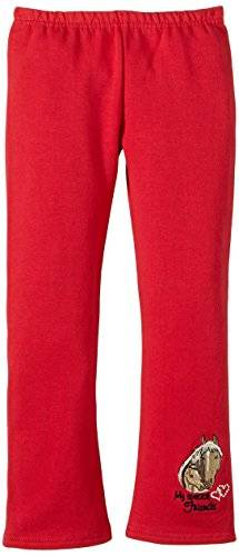 Salt & Pepper - Leggings - Fille - Rouge (Cherry 349) - One Size (Taille fabricant: Gr. 134)