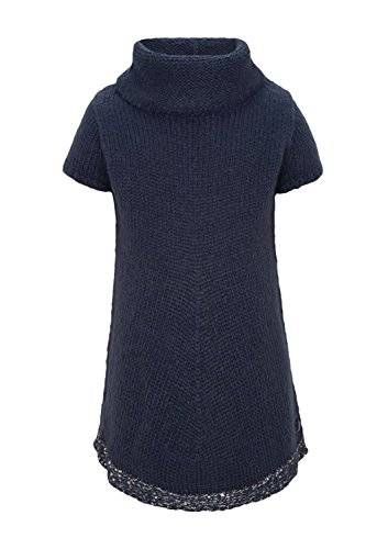 S.Oliver 53.411.62.8539 - Pull - Fille - Bleu (Darkblue 5884) - FR: 6 ans (Taille fabricant: 116/122)
