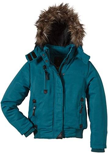Outfitters Nation - Blouson - uni - Fille - Vert (Shaded Spruce 19-4524 Tcx) - FR: 12 ans (Taille fabricant: XS/152)