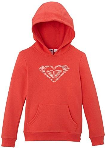 Roxy ERGSF03007 Winter - Sweat-shirt à capuche - Uni - Fille - Rose (Hibiscus) - FR: 14 ans (Taille fabricant: 14 ans)