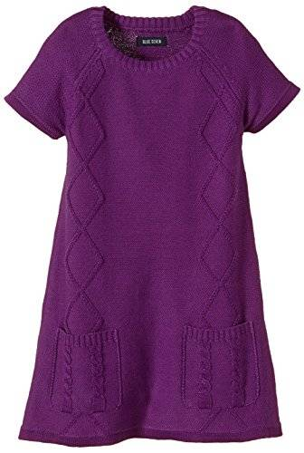 Blue Seven - Robe - Fille - Violet (Lila 469) - FR: 4 ans (Taille fabricant: 104)