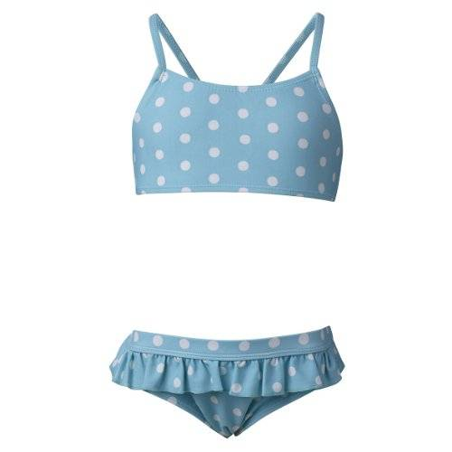 LEGO Wear - Lego Friends Bikini Albertine 502 - Maillot deux pièces Fille - Turquoise (TURQUISE) - FR : 10 ans (Taille fabricant : 140)
