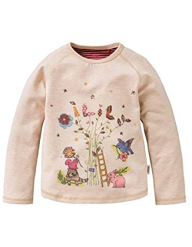 Oilily - T-shirt Fille - Blanc - Weiß (White 3) - 6 ans
