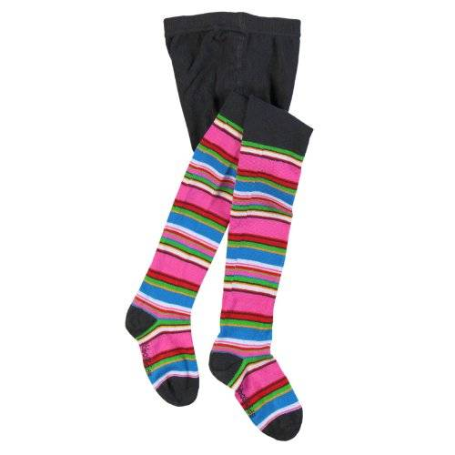 Bóboli - Collants - Fille - Multicolore (Anthracite 8036) - FR: 4 ans (Taille fabricant: 4)