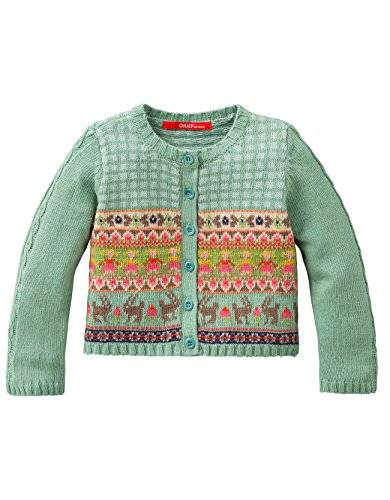 Oilily - Gilet - Fille - Turquoise (Turquoise 64) - FR: 6 ans (Taille fabricant: 116)