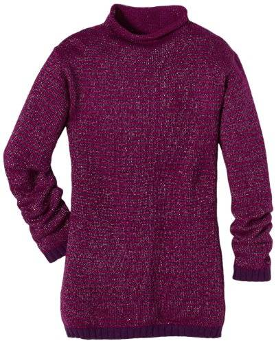 ESPRIT Pull-over Col mao Manches longues Fille - Violet - Violett (561 GRAPE PURPLE) - FR : 14 ans (Taille fabricant : 164/170)