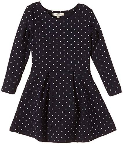 Ltb Jeans - Robe - Fille - Multicolore (Navy 301) - FR: 5 ans (Taille fabricant: 110)