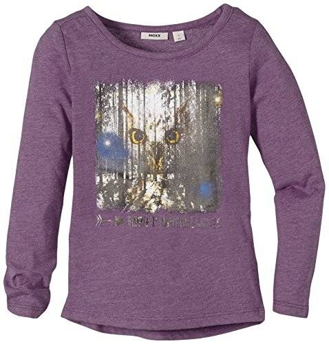 MEXX Kids Girls C&S; - T-shirt - Fille - Violet (Blackberry Cordial 514) - FR: 4 ans (Taille fabricant: S)