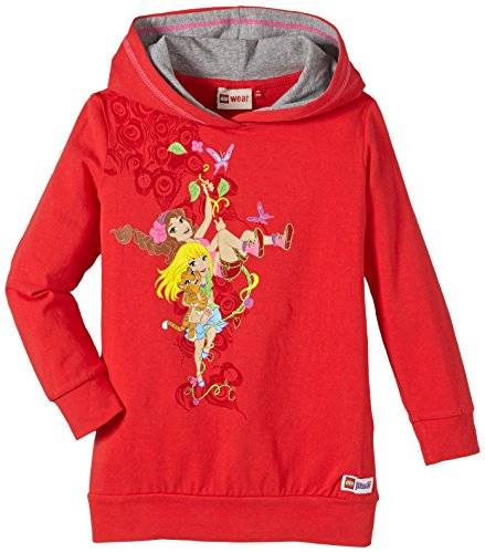 LEGO Wear - Pull Fille - Rouge - Rot (RED 361) - 12 ans