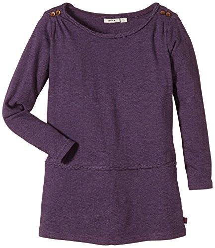 MEXX Cut & Sew C&S; - Robe - Fille - Violet (Blackberry Heather 505) - FR: 6 ans (Taille fabricant: M)