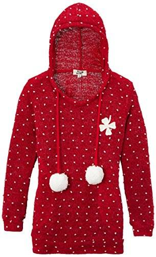 Molly Bracken - Pull - Fille - Rouge (Rouge/Red) - FR: 9 ans (Taille fabricant: 8/10)