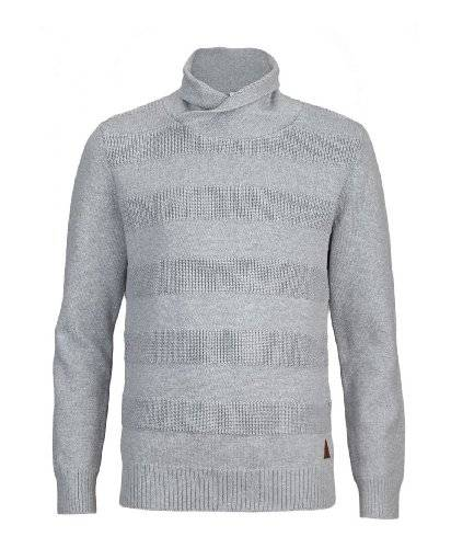 s.Oliver Pull-over Col mao Manches longues Garçon - Gris - Grau (9400) - FR : 10 ans (Taille fabricant : 140/146)