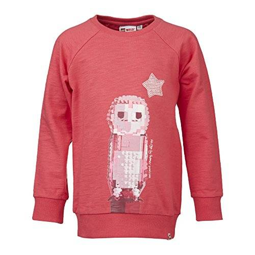 Lego Wear - Pull - Fille - Rose (Bright Red 330) - FR: 12 ans (Taille fabricant: 152)