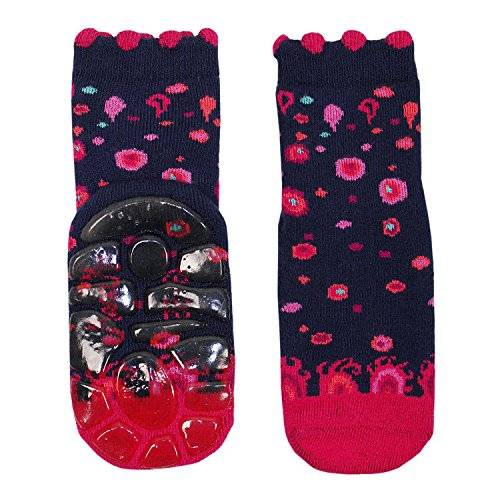 Maximo - Chaussettes - Fille - Multicolore (Indigo/Phlox Pink 3164) - FR: 19 (Taille fabricant: 1922)