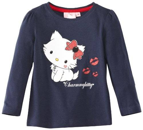 Disney Minnie Mouse - T-shirt - Fille - Bleu - FR: 6 ans (Taille fabricant: 6 Years)