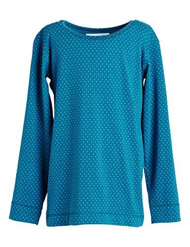 Phister & Philina - T-shirt à manches longues - Fille - Bleu (Celestial Celestial) - FR: 7 ans (Taille fabricant: 122)