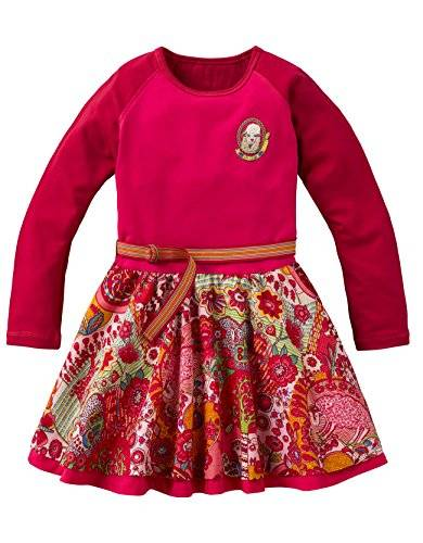 Oilily - Robe - Fille - Rose (Pink 36) - FR: 10 ans (Taille fabricant: 140)