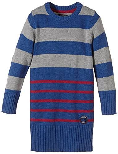 Blue Seven - Robe - Fille - Bleu (Ocean 535) - FR: 4 ans (Taille fabricant: 104)