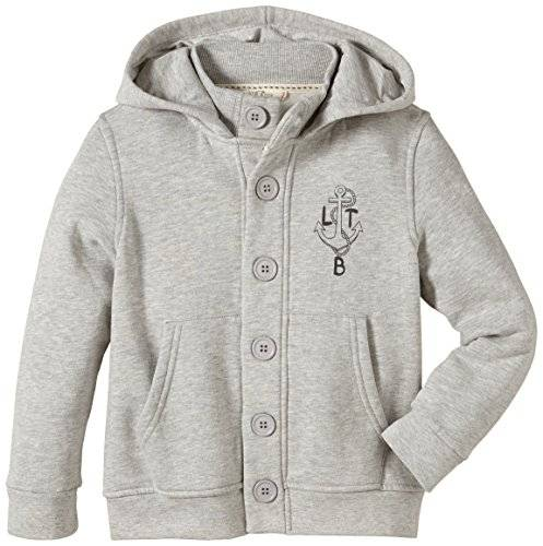 Ltb Jeans - Sweat-shirt - Garçon - Gris (Light Grey Mel 217) - FR: 6 ans (Taille fabricant: 116)