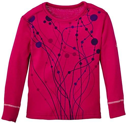 Odlo Warm Trend T-Shirt manches longues Fille Violet Pink FR : 14 ans (Taille Fabricant : 164)