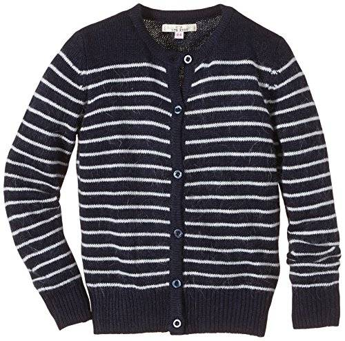 Ltb Jeans - Gilet - Fille - Multicolore (Navy White Stripes 8139) - FR: 12 ans (Taille fabricant: 152)