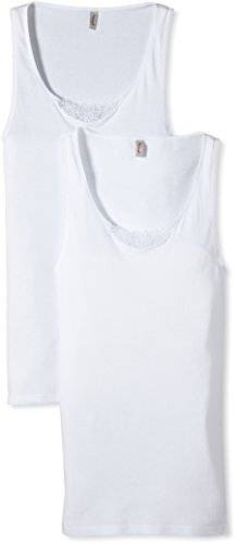Triumph Yselle - Maillot de corps - Femme - Blanc (White 03) - FR: 46 (Taille fabricant: 44)