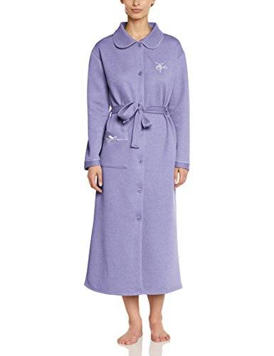 Mary White Mimosa - Peignoir - Femme - Violet (Lavande) - FR: 42 (Taille fabricant: 42/44)