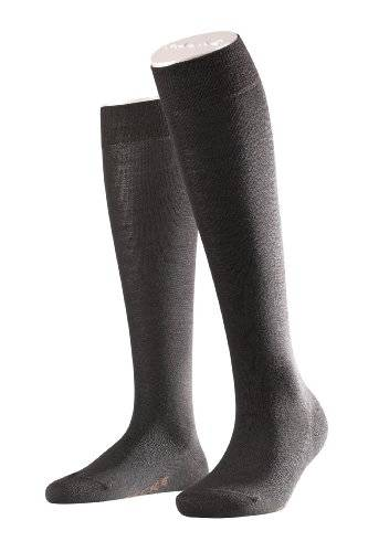 Falke - Chaussettes montantes - Femme - Marron (Dark Brown 5239) - FR: 41-42 (Taille fabricant: 41/42)