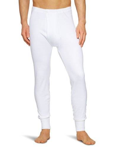 Huber - Bas thermique - Homme - Blanc (Weiss 0500) - X-Large (Taille fabricant: XL)
